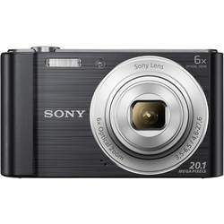 Digitálny fotoaparát Sony Cyber-Shot DSC-W810B, 20.1 Megapixel, Zoom (optický): 6 x, čierna
