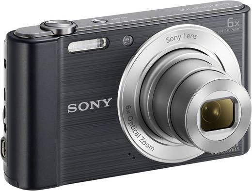 Digitalkamera Sony Cyber-Shot DSC-W810B 20.1 Mio. Pixel Opt. Zoom: 6 x Schwarz