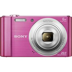 Digitálny fotoaparát Sony Cyber-Shot DSC-W810P, 20.1 Megapixel, Zoom (optický): 6 x, ružová