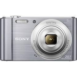 Digitálny fotoaparát Sony Cyber-Shot DSC-W810S, 20.1 Megapixel, Zoom (optický): 6 x, strieborná