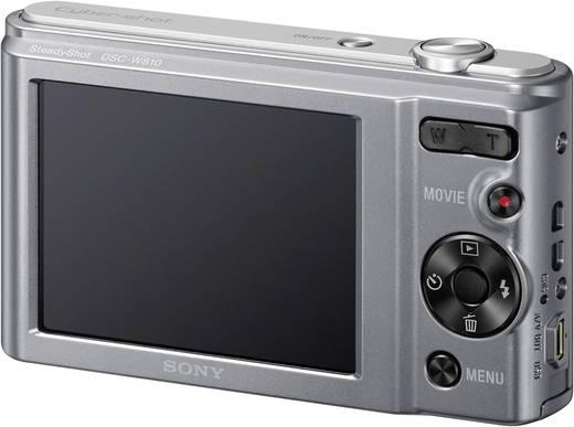 Digitalkamera Sony Cyber-Shot DSC-W810S 20.1 Mio. Pixel Opt. Zoom: 6 x Silber