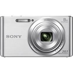 Digitálny fotoaparát Sony Cyber-Shot DSC-W830S, 20.1 Megapixel, Zoom (optický): 8 x, strieborná