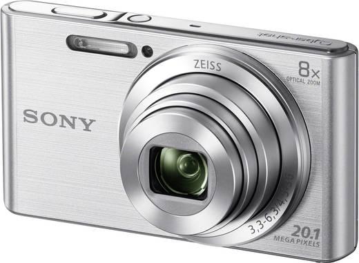 Digitalkamera Sony Cyber-Shot DSC-W830S 20.1 Mio. Pixel Opt. Zoom: 8 x Silber