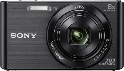 Digitalkamera Sony Cybershot DSC-W830B 20.1 Mio. Pixel Opt. Zoom: 8 x Schwarz