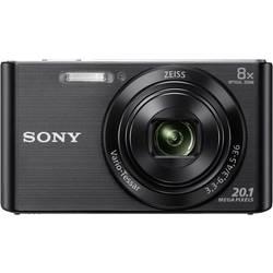 Digitálny fotoaparát Sony Cybershot DSC-W830B, 20.1 Megapixel, Zoom (optický): 8 x, čierna