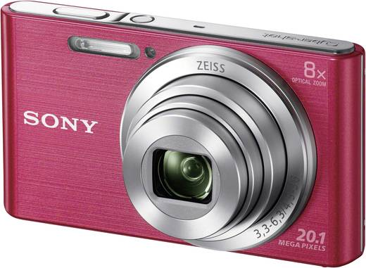 Digitalkamera Sony Cyber-Shot DSC-W830P 20.1 Mio. Pixel Opt. Zoom: 8 x Pink