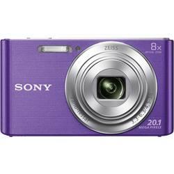 Digitálny fotoaparát Sony Cyber-Shot DSC-W830V, 20.1 MPix, optický zoom: 8 x, fialová