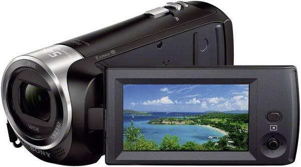 Sony Camcorder 2,7 Zoll und 2,5 Megapixel mit Opt. Zoom 27 x Schwarz