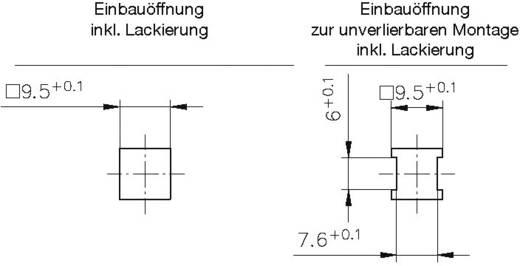 Schnellbefestigung GDZn Metall PB Fastener 0111-095-01-05 1 St.