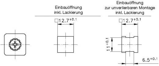 Schnellbefestigung GDZn Metall PB Fastener 0111-127-01-14 1 St.