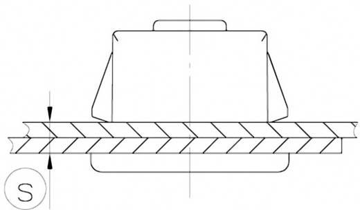 Schnellbefestigung Polyamid Metall PB Fastener 0111-1508-01-DW 1 St.