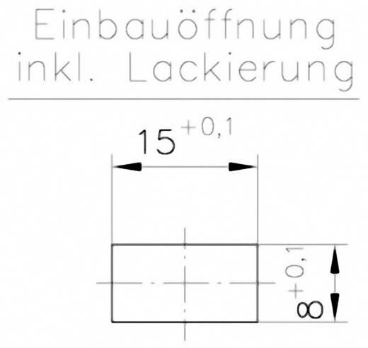 Schnellbefestigung Polyamid Schwarz PB Fastener 0111-1508-01-15-sw 1 St.