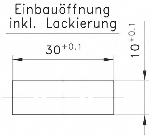 Verstärkungsblech GDZn Schwarz PB Fastener 0111-3010-01-VB 1 St.