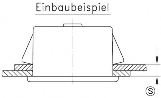 Schnellbefestigung GDZn Schwarz PB Fastener 0111-3010-01-57 1 St.