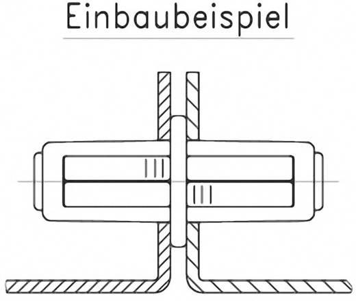 Doppelbefestiger GDZn Schwarz PB Fastener 0111-3010-02-17-gsw 1 St.