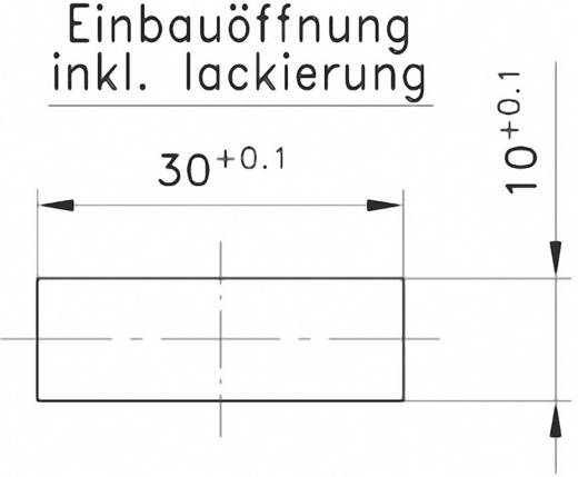 Doppelbefestiger GDZn Schwarz PB Fastener 0111-3010-02-27-gsw 1 St.