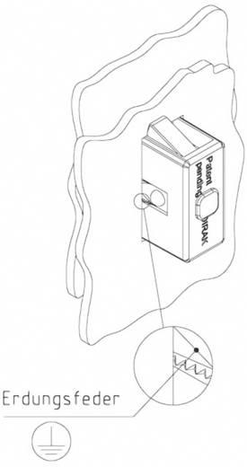 Erdungsfeder GDZn Schwarz PB Fastener 0111-3014-01-50 1 St.