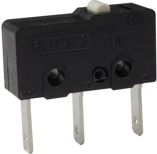 Mikroschalter 250 V/AC 6 A 1 x Ein/(Ein) Zippy SM1-N6S-00B0-Z tastend 1 St.