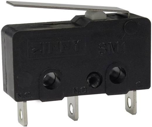 Mikroschalter 250 V/AC 6 A 1 x Ein/(Ein) Zippy SM1-N6S-01A0-Z tastend 1 St.
