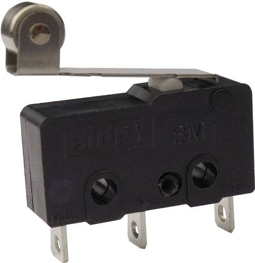 Mikroschalter 250 V/AC 6 A 1 x Ein/(Ein) Zippy SM1-N6S-05A0-Z tastend 1 St.