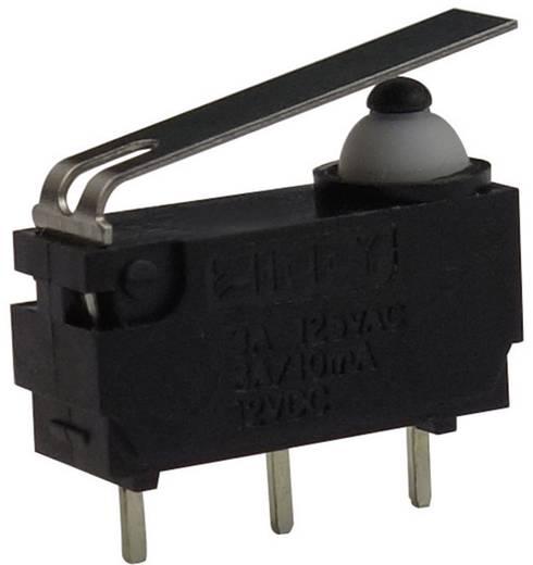 Mikroschalter 12 V/DC 3 A 1 x Ein/(Ein) Zippy DW-N3S-01P0D-Z tastend 1 St.