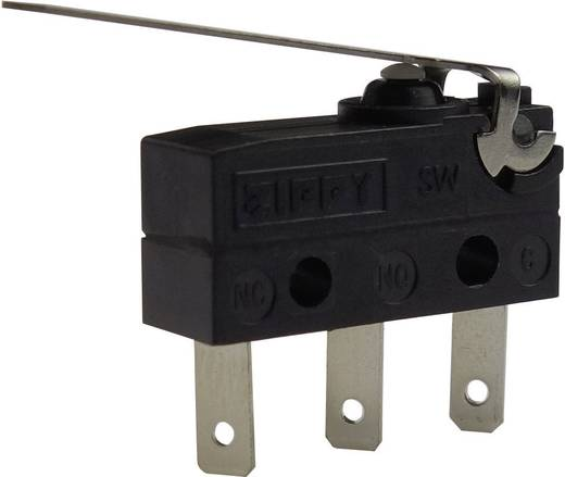 Zippy Mikroschalter SW-05S-03B0-Z 250 V/AC 6 A IP67 tastend 1 St.