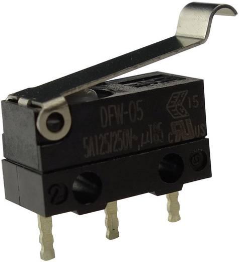 Mikroschalter 250 V/AC 5 A 1 x Ein/(Ein) Zippy DFW-05S-B02P0E-Z IP67 tastend 1 St.