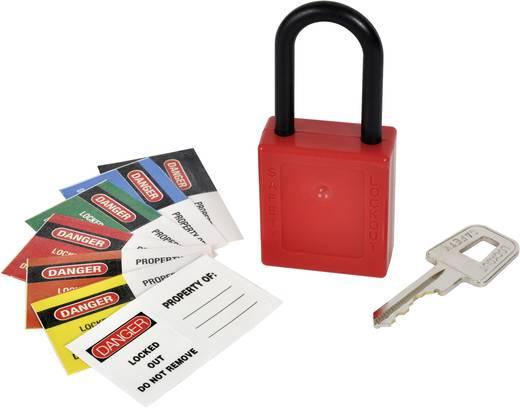 Vorhängeschloss funkenfrei Kasp K80040 Rot Schlüsselschloss