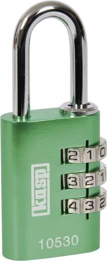 Vorhängeschloss 30 mm Kasp K10530GRED Grün Zahlenschloss