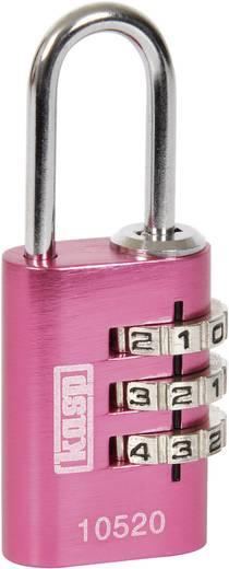 Vorhängeschloss 20 mm Kasp K10520PIND Pink Zahlenschloss