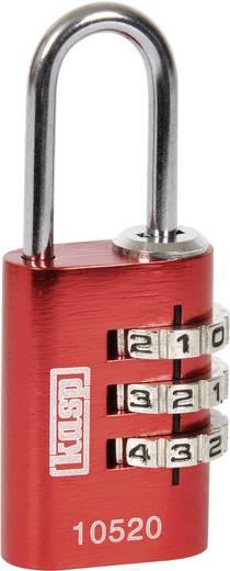 Vorhängeschloss 20 mm Kasp K10520REDD Rot Zahlenschloss