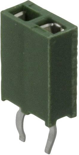 TE Connectivity Buchsenleiste (Standard) AMPMODU HV-100 Polzahl Gesamt 4 Rastermaß: 2.54 mm 215297-4 1 St.