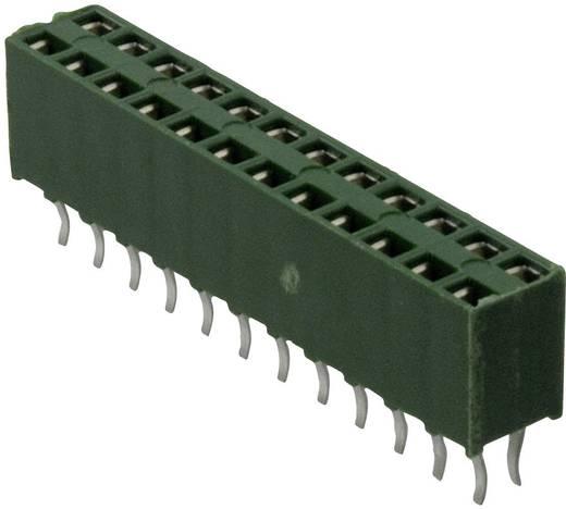 TE Connectivity Buchsenleiste (Standard) AMPMODU HV-100 Polzahl Gesamt 8 Rastermaß: 2.54 mm 215307-4 1 St.