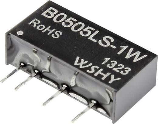 DC/DC-Wandler, Print B1205LS-1W 12 V/DC 5 V/DC 200 mA 1 W Anzahl Ausgänge: 1 x
