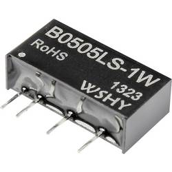Image of B0505LS-1W DC/DC-Wandler, Print 5 V/DC 5 V/DC 200 mA 1 W Anzahl Ausgänge: 1 x
