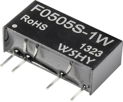 DC/DC-Wandler, Print F1205S-1W 12 V/DC 5 V/DC 200 mA 1 W Anzahl Ausgänge: 1 x