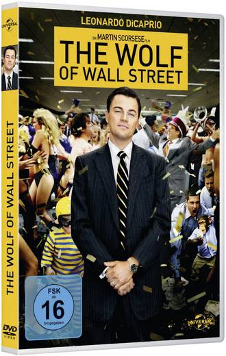 DVD The Wolf of Wall Street FSK: 16