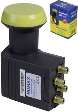 LNB quad Humax 143-B Nombre d'abonné(s) : 4 contacts de connexion dorés