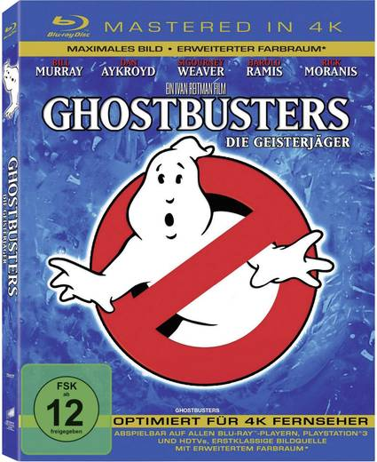 blu-ray Ghostbusters (4K Mastered) FSK: 12