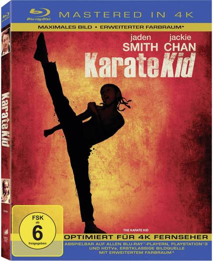 blu-ray Karate Kid (4K Mastered) FSK: 6
