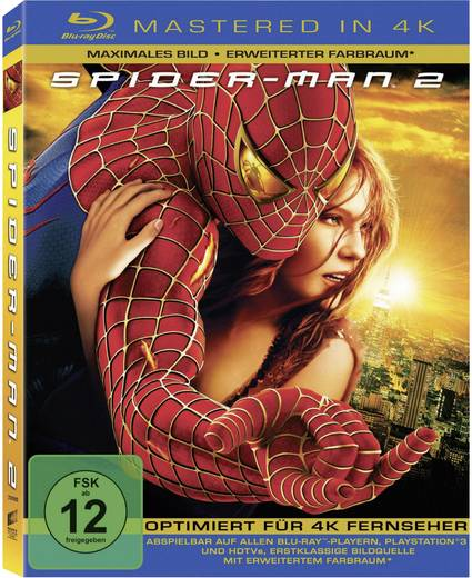 blu-ray Spider-Man 2 (4K Mastered) FSK: 12