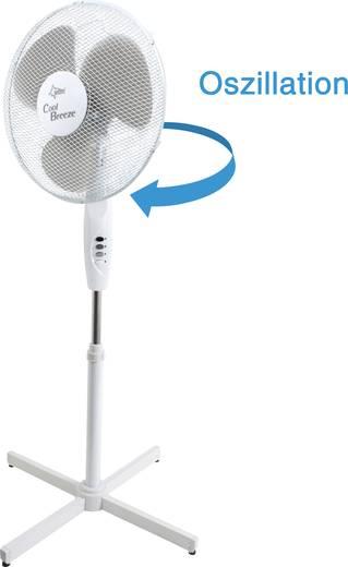 Suntec CoolBreeze 4.000 SV Standventilator 50 W Weiß