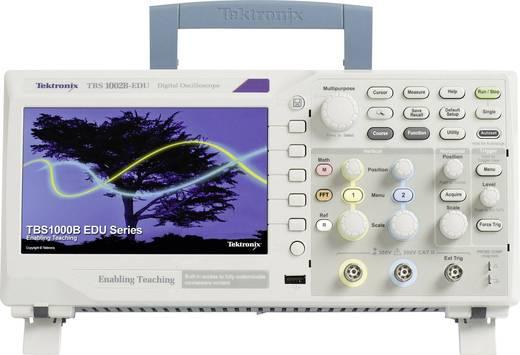 Digital-Oszilloskop Tektronix TBS1102B-EDU 100 MHz 2-Kanal 2 GSa/s 2.5 kpts 8 Bit Kalibriert nach ISO Digital-Speicher (