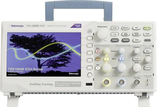 Digital-Oszilloskop Tektronix TBS1202B-EDU 200 MHz 2-Kanal 2 GSa/s 2.5 kpts 8 Bit Kalibriert nach ISO Digital-Speicher (