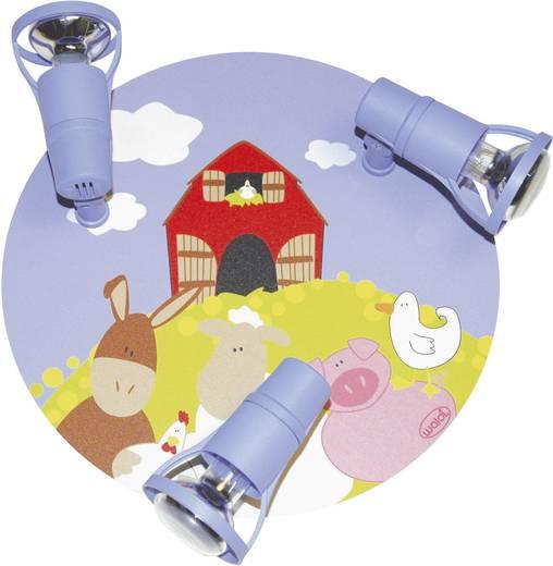 Deckenstrahler Bauernhof Energiesparlampe E14 27 W Waldi Leuchten Ole Bunt