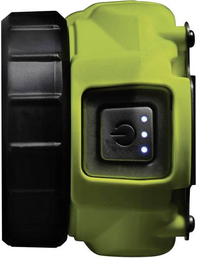 PELI Taschenlampe Für EX-Zonen: 0 LED TRAC12ATEX0018X 3715-020-241E High > 4 h · Low > 7 h · Abwärts-LEDs > 31 h Gelb
