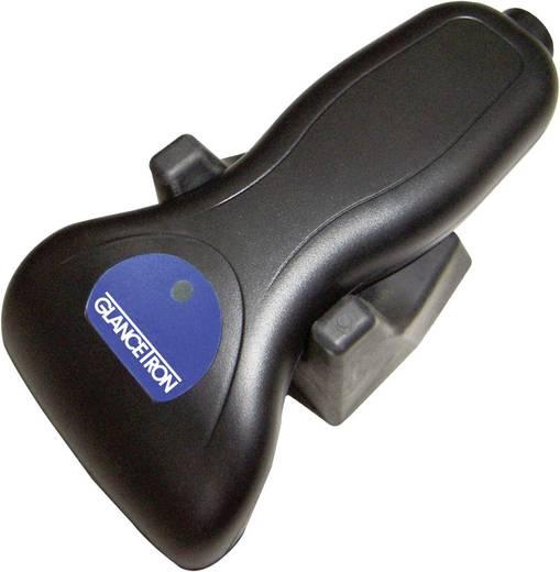 1D Barcode-Scanner Glancetron 2009 PS/2-Kit (KBW) Linear Imager Schwarz Hand-Scanner PS/2
