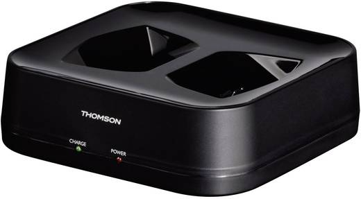 Funk Kopfhörer Thomson WHP3311BK Over Ear Lautstärkeregelung Schwarz