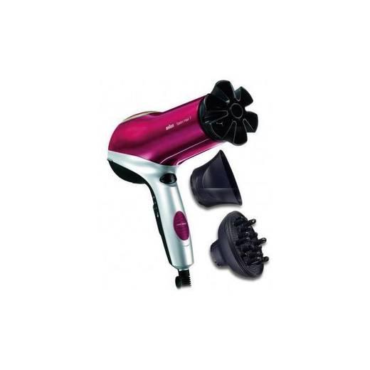 Haartrockner Braun Satin Hair SPI-C2000 Silber/Schwarz/Rot