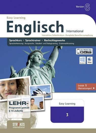 Strokes International Englisch International Business Vollversion, 1 Lizenz Mac, Windows Sprach-Software
